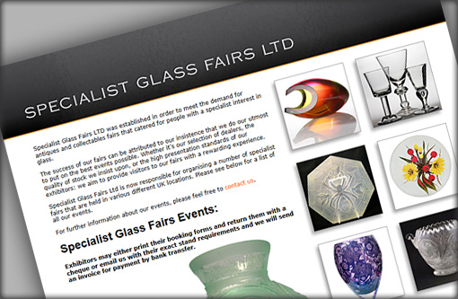 Link: Specialist Glass Fairs